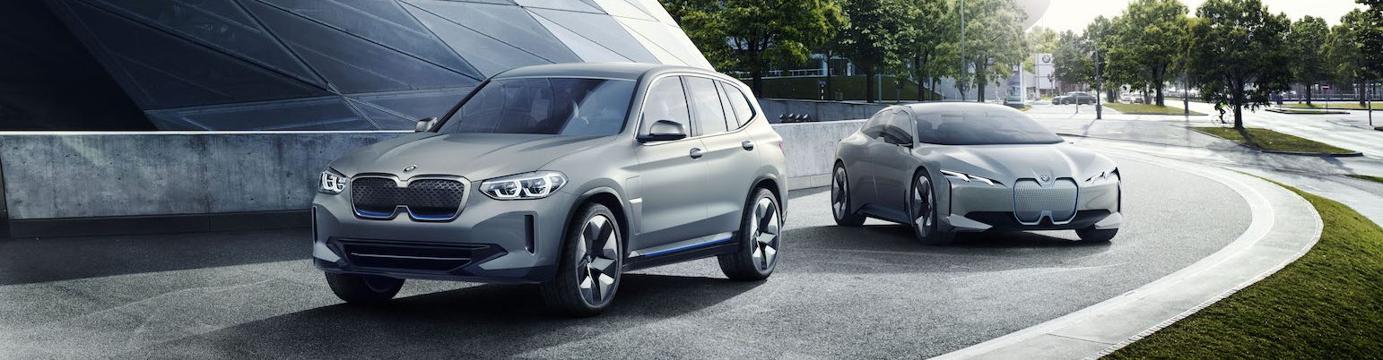 Hybrid and electric BMW cars