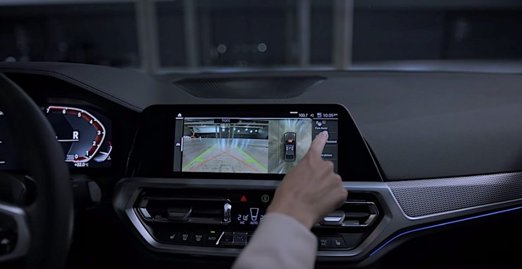 BMW's Reversing Assistant function